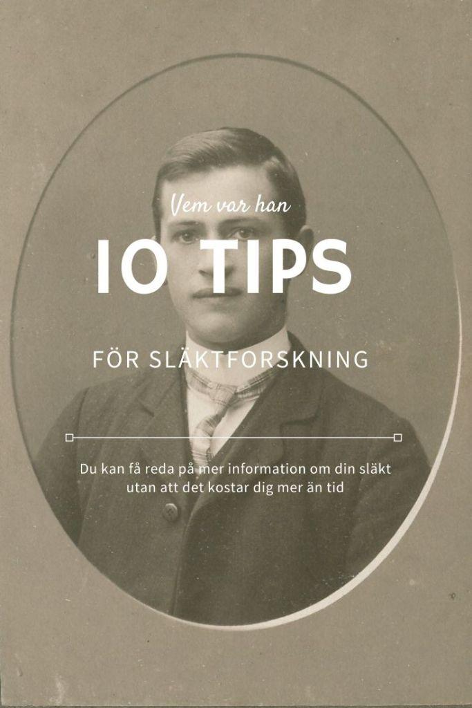 Tips för gratis släktforskning!
